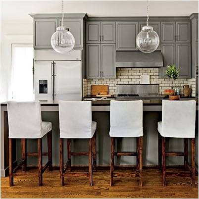 Renovating your kitchen? Why going gray isn't always a bad thing! www.designsbykaty.com