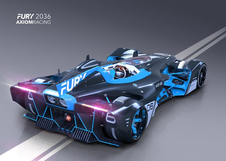 Race car design for an upcoming tutorial.