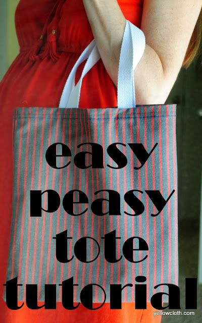 mommy is coo coo: How to make a (easy peasy) tote bag