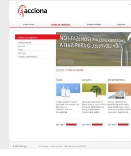 Desarrollo de ACCIONA Corporativo Brasileño