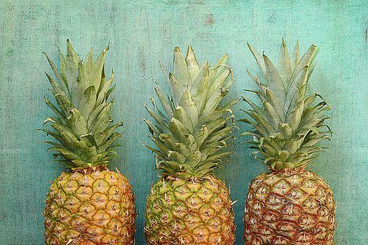 Three Pineapples by Joy StClaire fine art print, decor