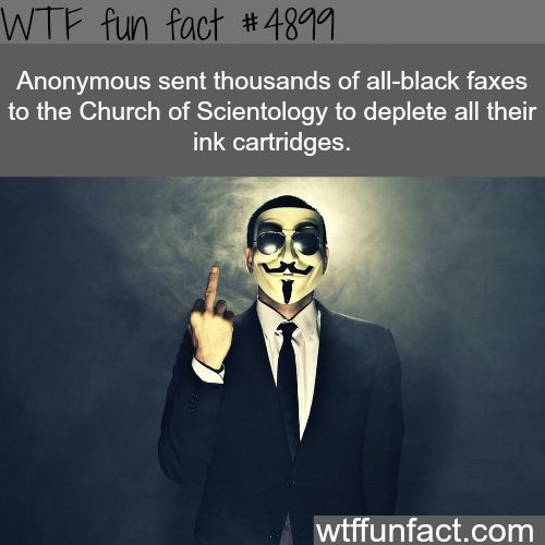 The best of Anonymous - WTF fun facts