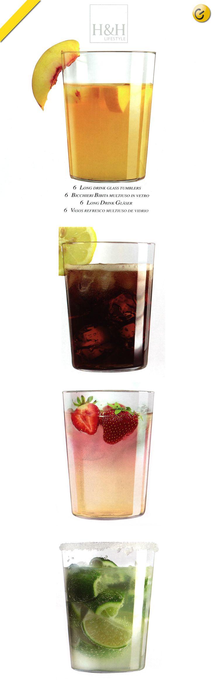 Bicchiere in #vetro #soffiato sottilissimo, per una esaltante esperienza di gusto. #Elegante e #pratico, è adatto al lavaggio in lavastoviglie, dal #design leggero e raffinato si distingue su ogni tavola come al bar.