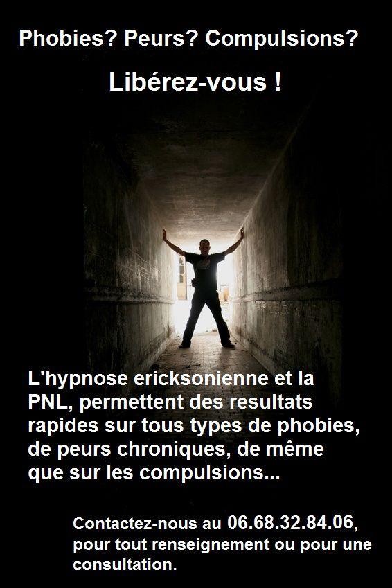 Phobies, peurs, compulsions? L'hypnose à votre service...