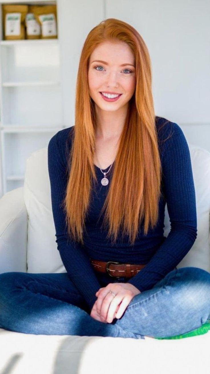 women redheads models long hair freckles twistys magazine