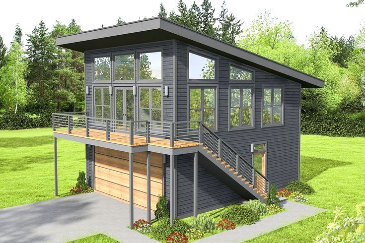 Pin By Steven Martinell On Home In 2020 Modern Style House Plans Carriage House Plans Mountain House Plans