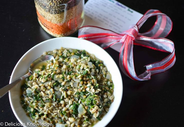 DIY Holiday Gift Giving: Lentil Confetti Soup - Delicious Knowledge