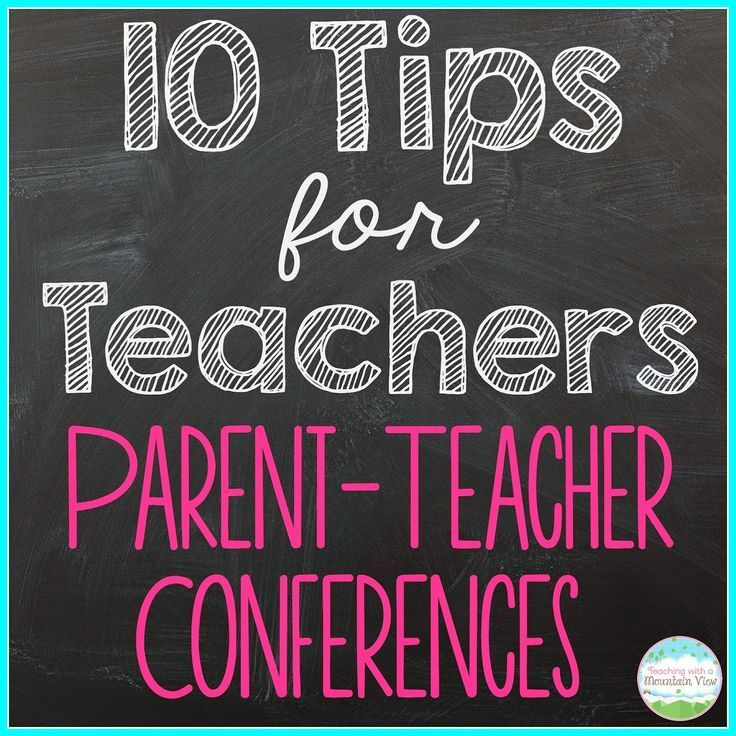 10 Tips for Smooth Sailing Parent Teacher Conferences! This is a must-read before parent-teacher conference season is upon us.