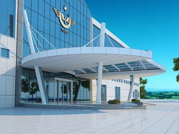 """Feyyaz Aysoy Twitter'da: """"En önemli YHT Tesisi Mayısta açlıyor @TCDD YHT Depo-Bakım; Giriş Binası ve D Binası kanopi tasarımı by @feyyazaysoy https://t.co/EUS75lweD1"""""""