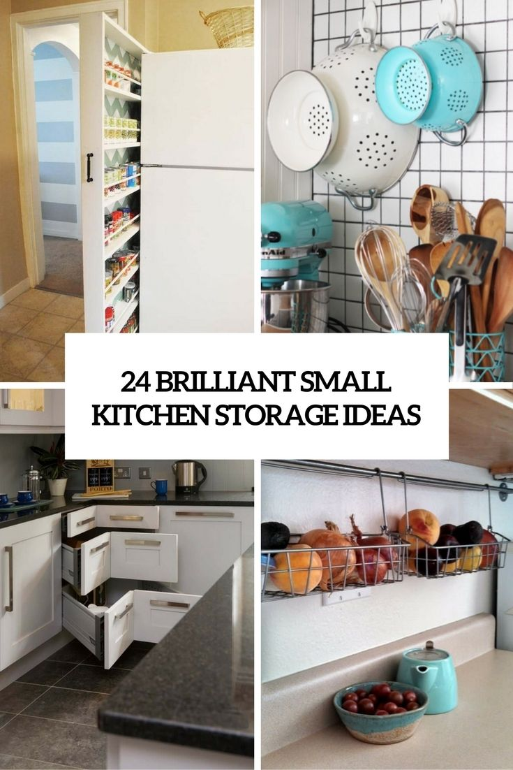24 Creative Small Kitchen Storage Ideas Shelterness Small Kitchen Storage Small Kitchen Storage Solutions Small Space Kitchen Storage