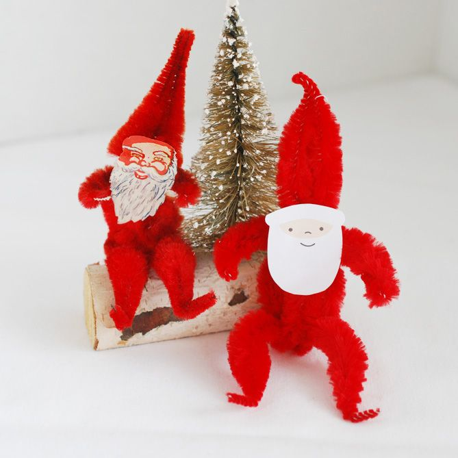 112 Best Images About CHRISTMAS CHENILLE & PIPECLEANER