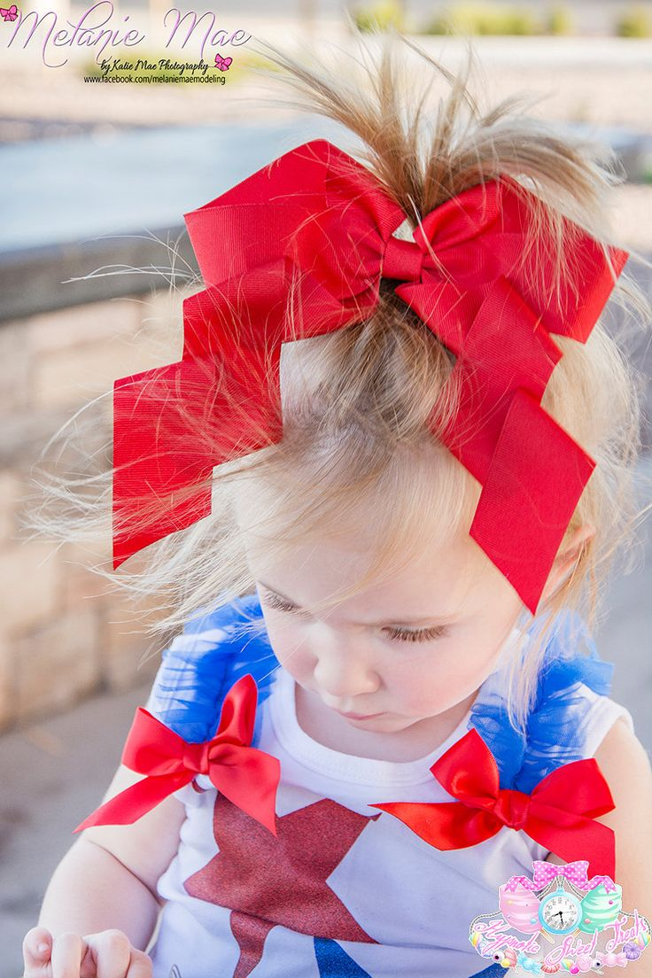Red Hair Bow, Baby hair bow, valentines day bow, Oversized Red Bow, Girls hair bow, Large Hair bow, Red Cheer Bow, hair bows for girls, Cute