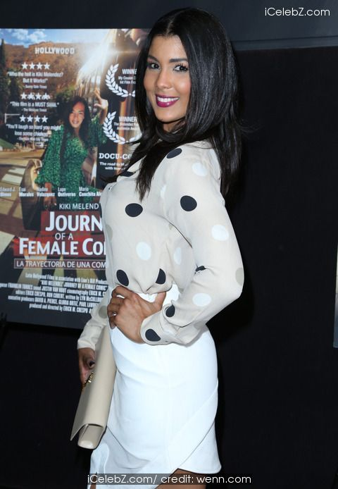 Sarodj Bertin Premiere of 'Journey of a Female Comic' held at TCL Chinese Theatre http://icelebz.com/events/premiere_of_journey_of_a_female_comic_held_at_tcl_chinese_theatre/photo9.html