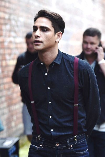 Luke Pasqualino definition of tall, dark and handsome!