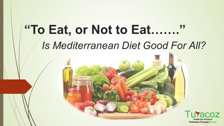 #TuracozHealthcareSolutions shares the #HealthBenefits and risks of #MediterraneanDiet, the #FoodHabits that are followed in the #MediterraneanRegion of the world and seem to be good for health.