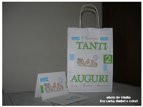 Packaging di compleanno