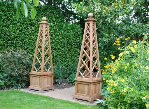 Nice Gazebos | Planters | Garden Gates | Benches | Hardwood Trellis | Arbours |  Obelisk |