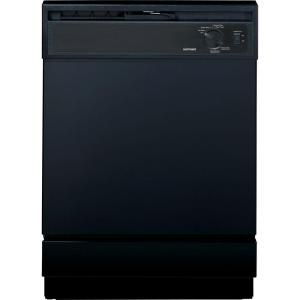 Hotpoint Front Control Dishwasher in Black-HDA2100VBB at The Home Depot