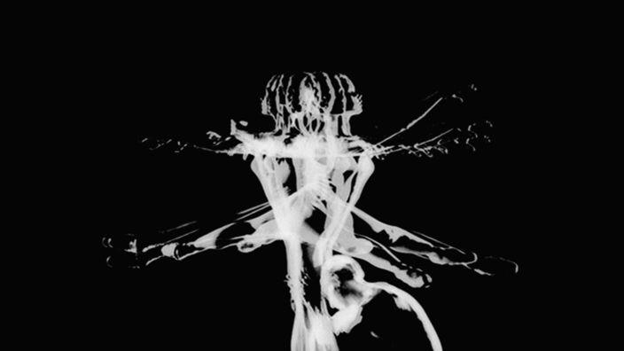 Norman McLaren's short film is a cinematic study of the choreography of ballet. A bare, black set with the back-lit figures of dancers Margaret Mercier and Vincent Warren ...
