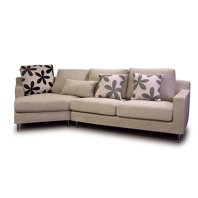 Tufted Sofa Bliss sectional sofa Love the wedge shape not crazy about everything else