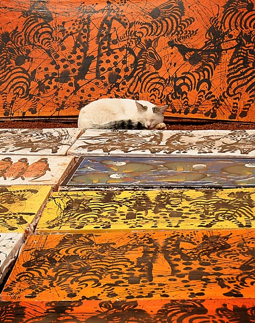 ... about Tanzania on Pinterest | Thatched house, Lakes and Batik art