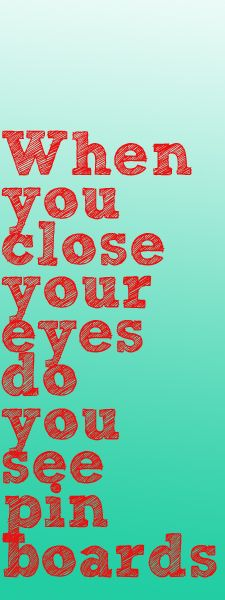 Close your eyes.....what do you see?
