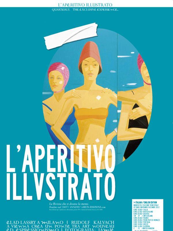 L' #AperitivoIllustrato quarterly's cover No. 59