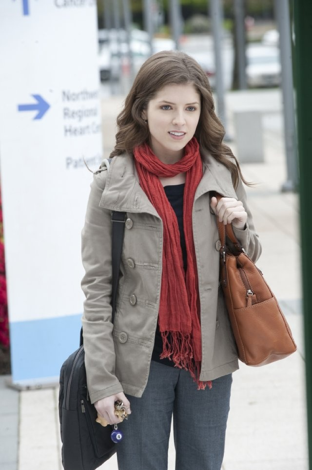 Anna Kendrick. Love her outfit and hair. Not to mention this is from my favorite movie. 50/50. ♥