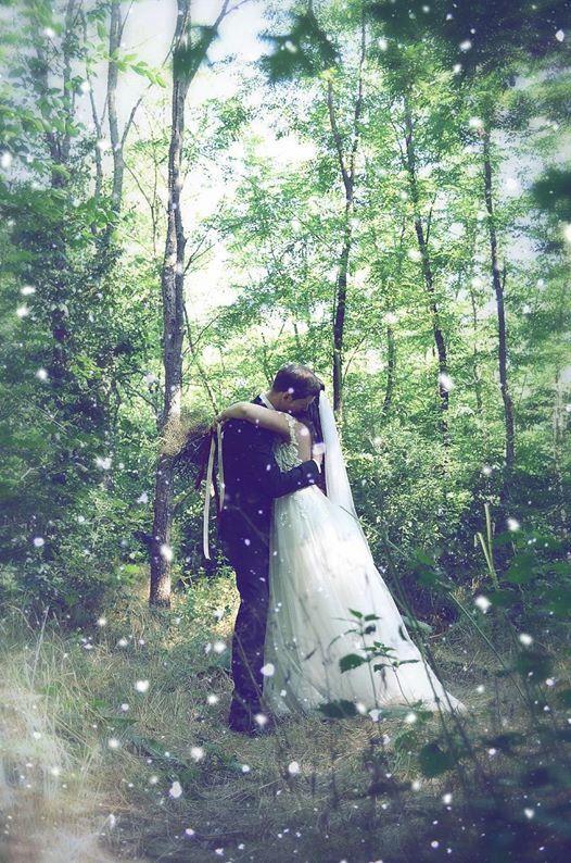 My Fairytale wedding ❤️ in the forest, Rhea Costa dress