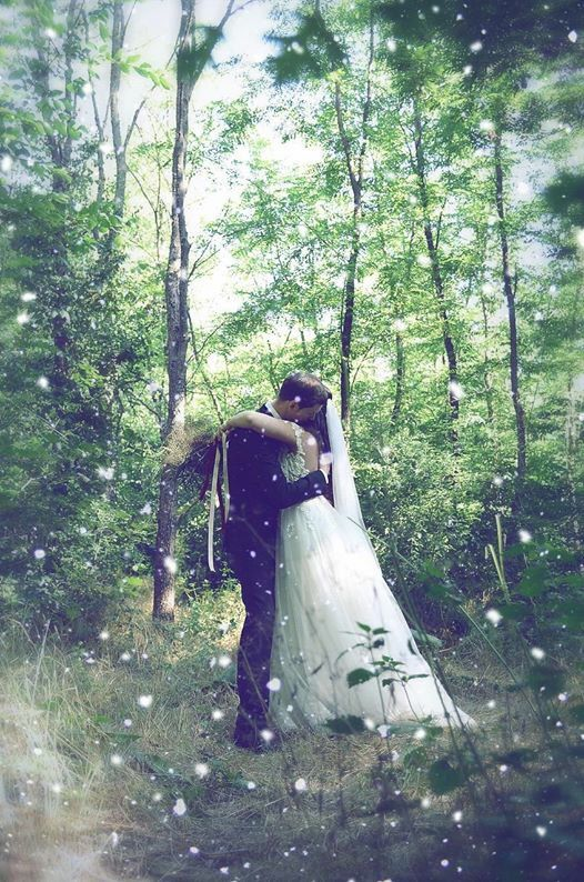My Fairytale wedding ❤️ in the forest, Rhea Costa dress