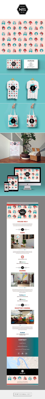 House No. 1 Branding by Pavel Cherkalin on Behance | Fivestar Branding – Design and Branding Agency & Inspiration Gallery