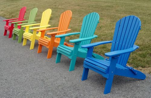 These Chairs Are Comfortable And Look Great In Vibrant