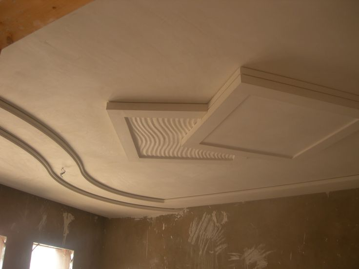 29 best images about plafond platre on pinterest for Faux plafond platre chambre