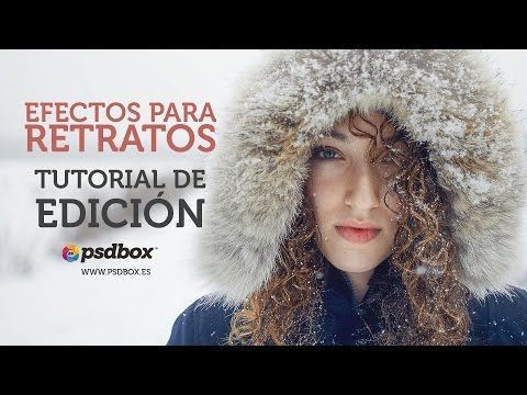 Efectos para Retratos Tutorial Photoshop en Español - YouTube
