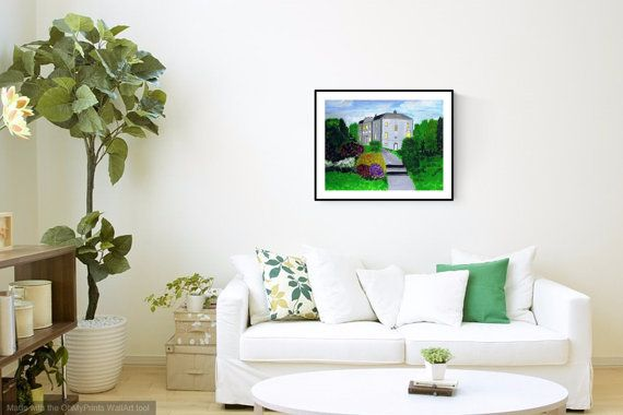 Avondale House Painting by PaintingsbyPhilomena on Etsy