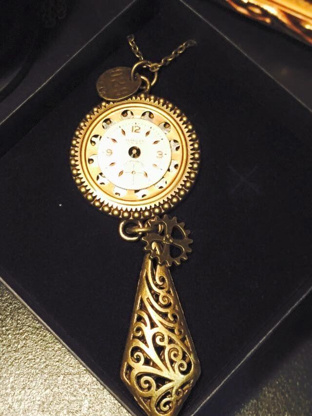 Steampunk necklace by Acid Drop