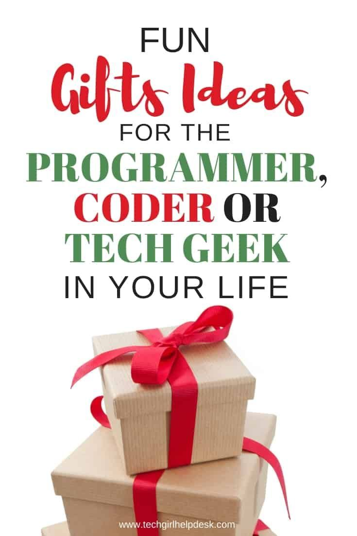 Fun Gifts For Computer Geeks Or Programmers Computer Geek Gifts Gifts For Programmers Programmer