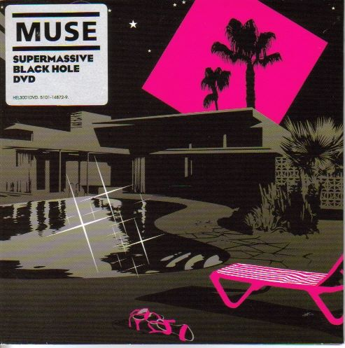 2006 Muse - Supermassive Black Hole (DVD single) [Helium 3 HEL3001DVD] illustration by Jasper Goodall #albumcover