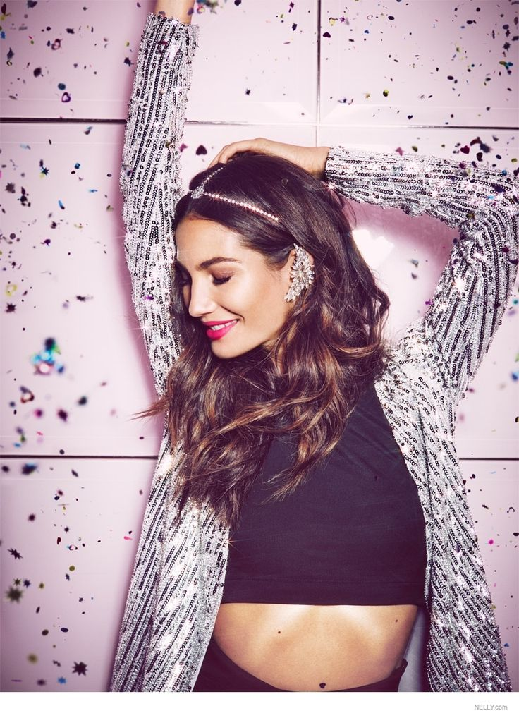Lily Aldridge Gets Flirty in Nelly.com's New Icons Campaign