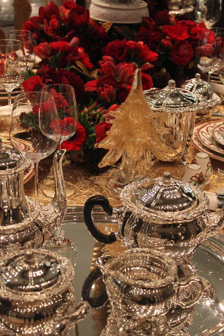 Christmas tea at Tiffany's  NYC