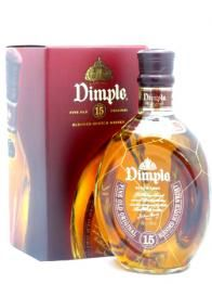 Dimple 15 Years Old  Dimple is a Blended Scotch Whisky malt which have been aged for at least 15 years.