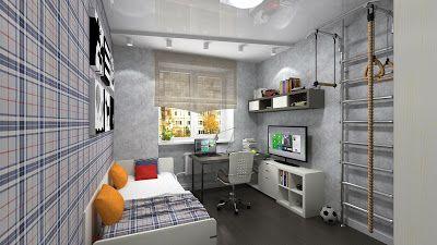 Sergey Batarchuk: Дизайн интерьера 3-х комнатной квартиры by NANADES...
