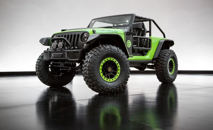 View Jeep Trailcat Is the 707-hp Hellcat-Powered Wrangler from Hell Photos from Car and Driver. Find high-resolution car images in our photo-gallery archive.