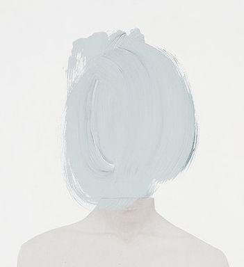 paint splotch head.
