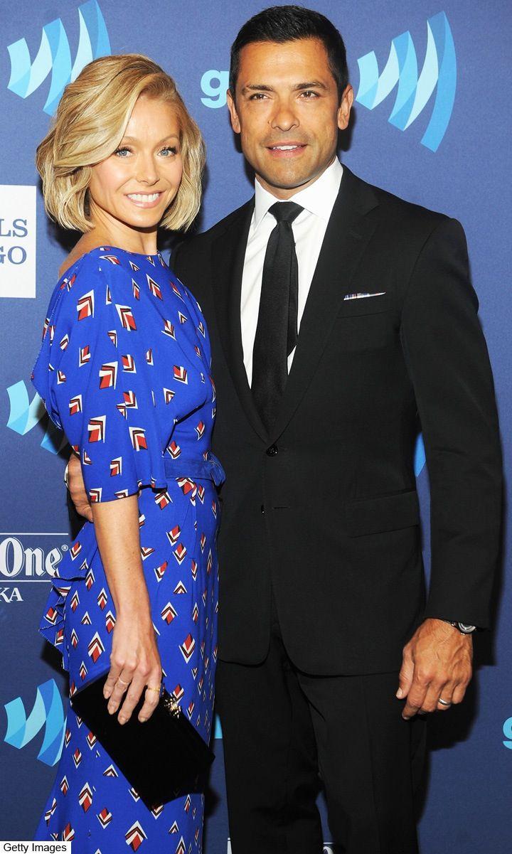 "Kelly Ripa Breaks Her Foot, Says Her Suffering Brings Husband Mark Consuelos ""Such Joy"""
