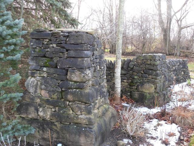 Dry Stone Pillar : Images about stone pillars on pinterest
