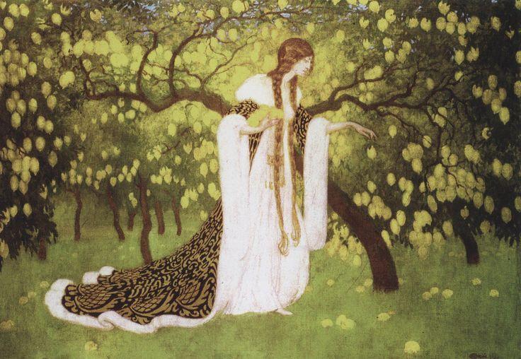 https://flic.kr/p/geKSDf   Edward Okuń   W cytrynowym sadzie, ol., 1923