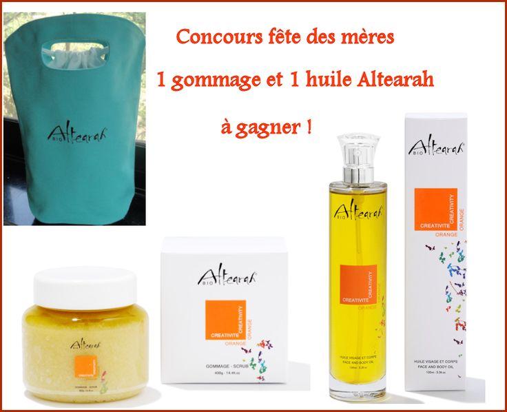 Un lot Altearah Bio à gagner chez Beautytricks !  http://www.beautytricks.fr/?p=3935