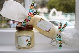 butter: Homemade Butter, Babies, Baby Food Jars, Babyfood Jar, Gift Ideas, Baby Jars, Baby Foods, Homemade Gift