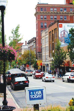 I love High Street, Morgantown, WV! I lived at the top of High Street for a year or so in the mid 70's.